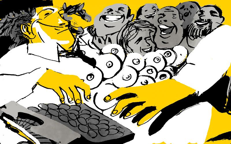 Las cuitas de la langosta El amiguismo en el mundo literario